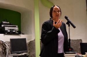 Elisabeth Aasen. Foredrag i forbindelse med jubileet for norske kvinners stemmerett, 5.september 2013